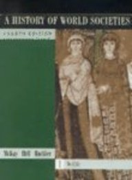 9780395753781: History of World Societies, Volume 1, Fourth Edition