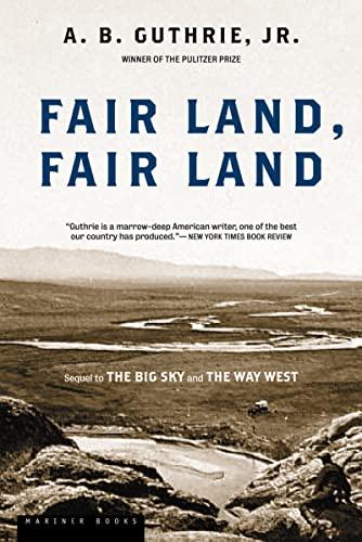 9780395755198: Fair Land, Fair Land