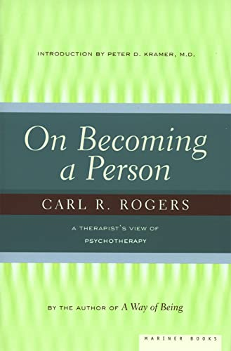 9780395755310: On Becoming a Person: A Therapist's View of Psychotherapy