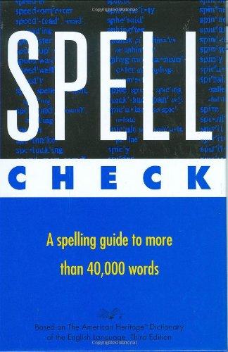 9780395756911: Spell Check