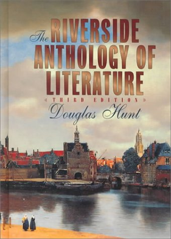 9780395760703: The Riverside Anthology of Literature, Third Edition