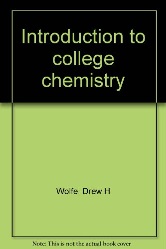 9780395761694: Introduction to college chemistry