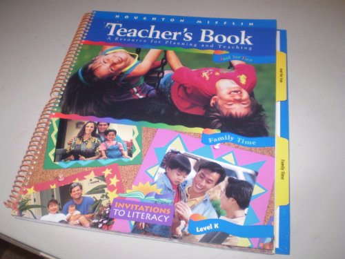 9780395766781: Just for Fun and Family Time (Teachers Book: A Resource for Planning and Teaching, Invitations To Literacy)