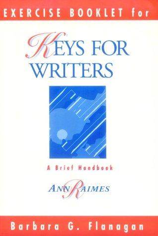 9780395770658: Keys for Writers Exercises