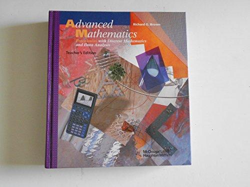 9780395771150: McDougal Littell Advanced Math: Teacher's Edition Grades 9-12 1997