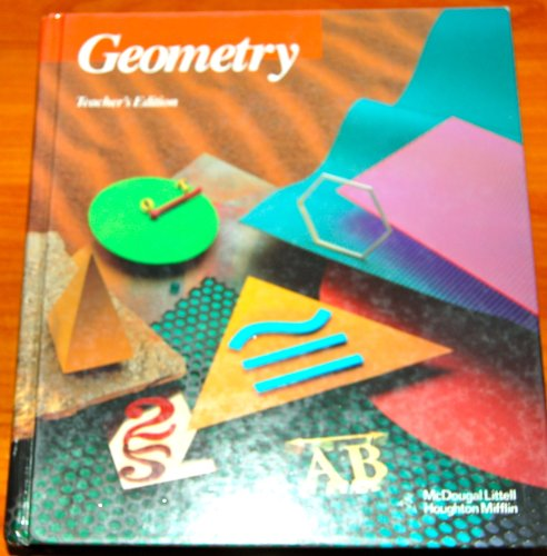 9780395771211: Geometry, Teacher's Edition