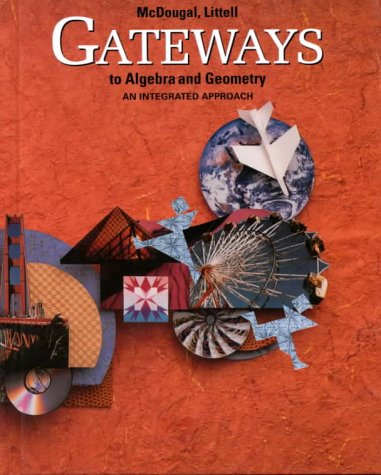 9780395771242: Gateways to Algebra and Geometry