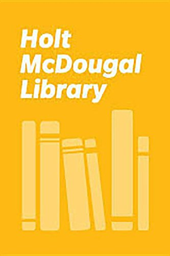 9780395771396: Holt McDougal Library, High School with Connections: Individual Reader . . . And the Earth Did Not Devour Him 1997
