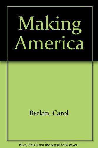9780395774441: Making America