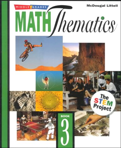 Math Thematics: Book 3 (0395775019) by McDougal, Littell