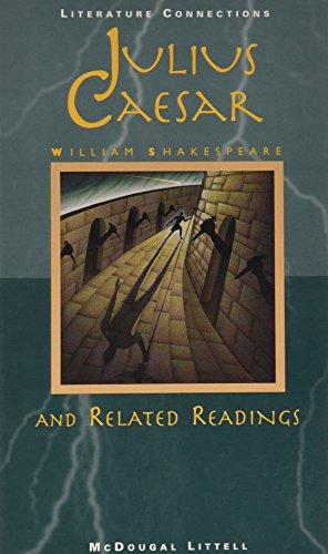 9780395775424: McDougal Littell Literature Connections: Julius Caesar Student Editon Grade 10 1996
