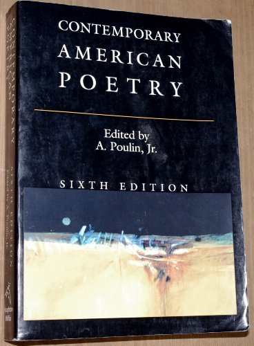 9780395778005: Contemporary American Poetry