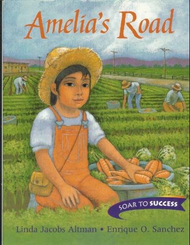 Houghton Mifflin Soar to Success: Paperback Level 4 Amelias Road (Read Soar to Success 1999): ...