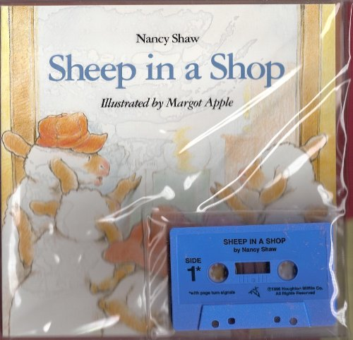 9780395779408: Sheep in a Shop Book & Cassette