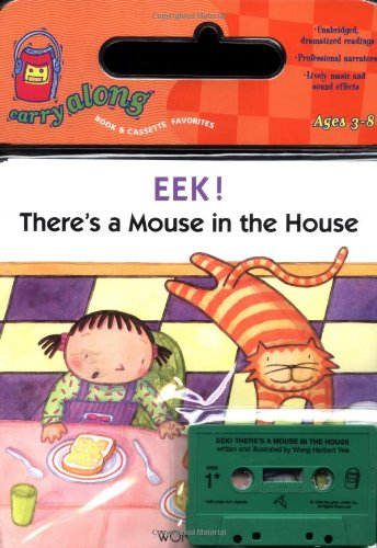 9780395779439: Eek! There's a Mouse in the House Book & Cassette (Sandpiper paperbacks)