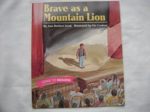 9780395781005: Brave Mountain Lion Level 5: Houghton Mifflin Soar to Success (Read Soar to Success 1999)