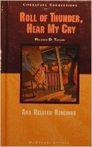 9780395783610: Roll of Thunder, Hear My Cry and Related Readings (Literature Connections Sourcebook)
