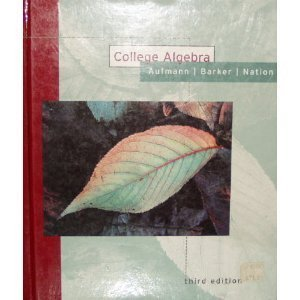 9780395786444: College Algebra