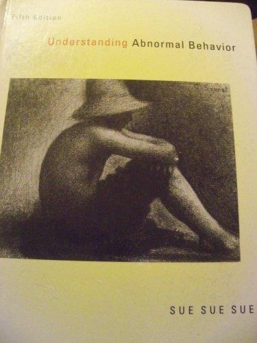 9780395788264: Understanding Abnormal Behavior