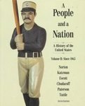 9780395788844: 2: A People and a Nation: A History of the United State Since 1865