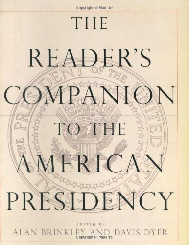 9780395788899: The Reader's Companion to the American Presidency