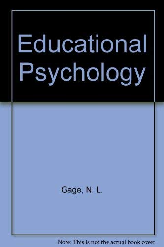 9780395790908: Study Guide for Gage/Berliner's Educational Psychology, 6th