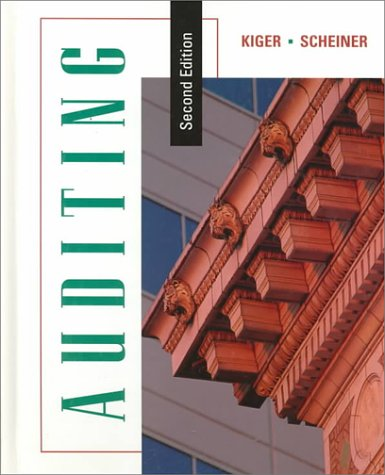 9780395791165: Auditing, Second Edition