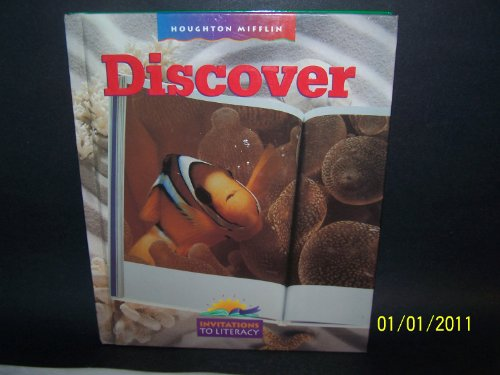 9780395794975: Discover, Houghton Mifflin Invitations to Literacy (Invitations to Lit 1997)