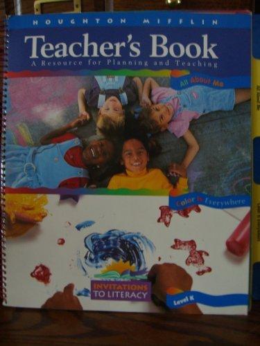 9780395795422: Wow! Wonder of Words Teacher's Book Level K.