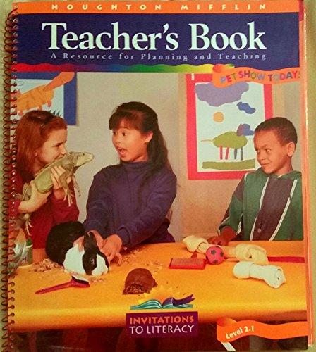 Houghton Mifflin GOOD FRIENDS Teacher's Book A Resource For Planning and Teaching Level 2.1, ...