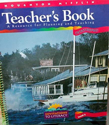 Catastrophe! Level 5 Teacher's Book: Invitations to: Cooper, J. David