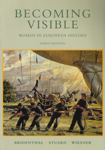 Becoming Visable: Women in European History: Wiesner-Hanks, Merry E.,Stuard,