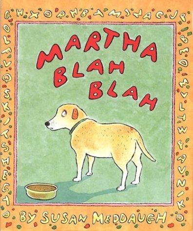 MARTHA BLAH BLAH: Meddaugh, Susan