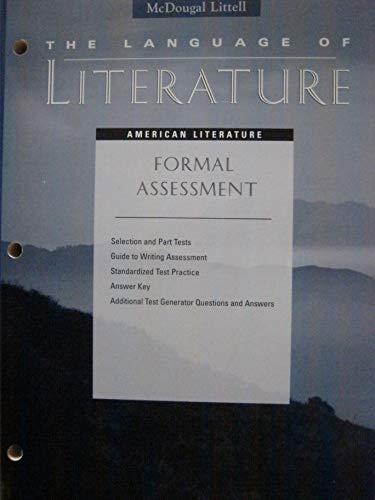 The Language of Literature, Unit Resoruce Books,: McDougal Littell