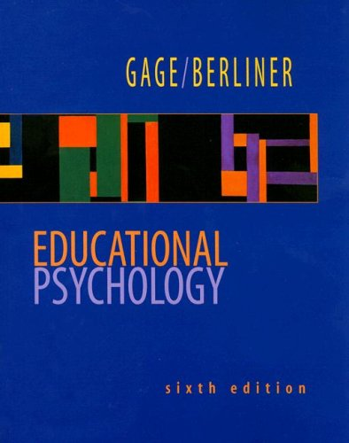 9780395797945: Educational Psychology