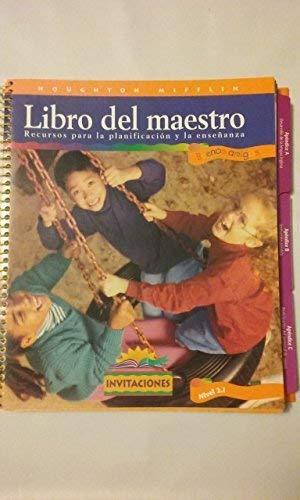 Houghton Mifflin: Libro del maestro (Spanish/English)Teacher's Book: Magarita Calderon