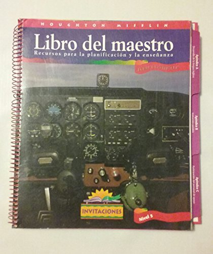 9780395801185: Libro del maestro [Teacher's Book] Recursos para la planificacion y la ensenanza ((BOOK ONLY)) (Horizontes Invitaciones Nivel [Level] 5)