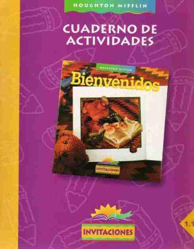 9780395801277: Cuaderno De Actividades Bienvenidos invitaciones 1.1 Houghton Mifflin (Cuaderno De Actividades Bienvenidos invitaciones 1.1, 1.1)