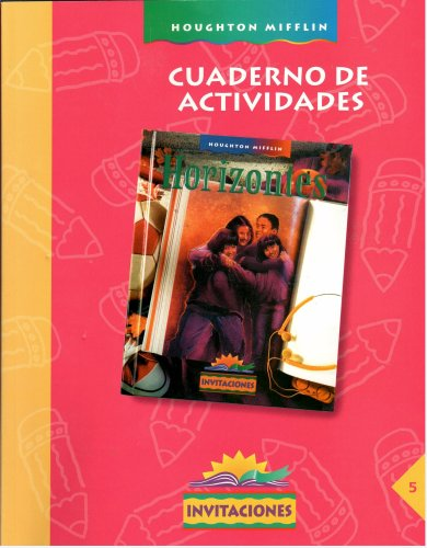 Cuaderno De Actividades (Invitaciones, 5) (0395801354) by Margarita Caleron; Alan Crawford; J. Sabrina Mims; Tina Salivar