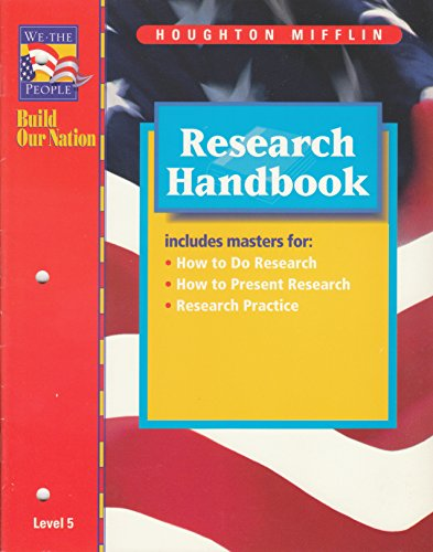9780395806913: Research Handbook (We the People: Build Our Nation, Level 5)