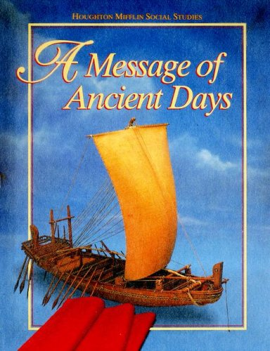 9780395809310: Message of Ancient Days