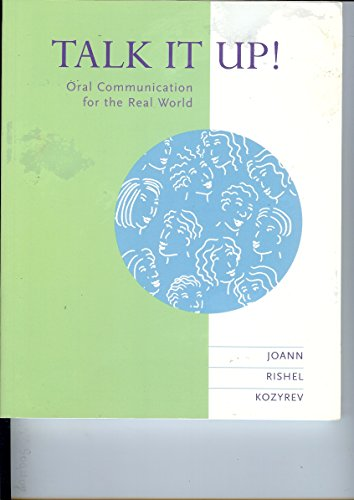 9780395811030: Talk It Up!: Oral Communication for the Real World