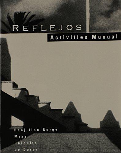 Reflejos - Activities Manual: Renjilian, Burgy