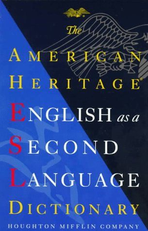 9780395818732: The American Heritage English As a Second Language Dictionary