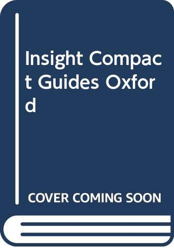 9780395819463: Insight Compact Oxford (Insight Compact Guides)
