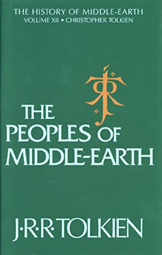 9780395827604: The Peoples of Middle-Earth: 12