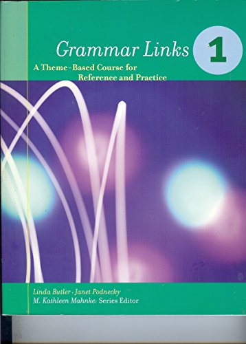 9780395828847: Grammar Links Level One Complete (No. 1)