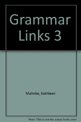 9780395828939: Grammar Links 3