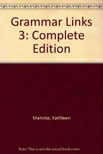 9780395828960: Grammar Links Level 3 Workbook Complete