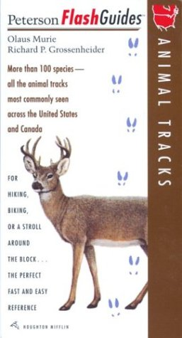 9780395829974: Animal Tracks (Peterson FlashGuides)